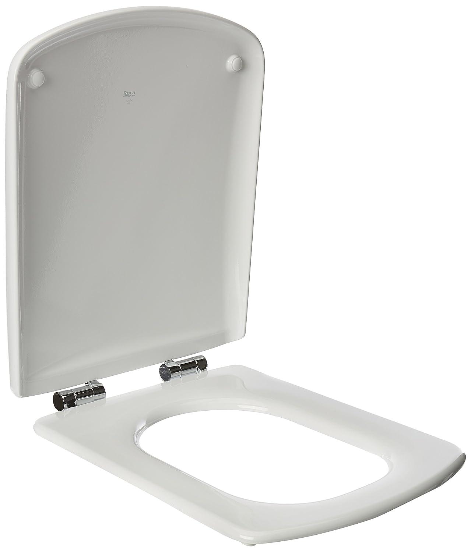 Roca Sidney A801382004-Siè ge de toilettes chute amortie Blanc