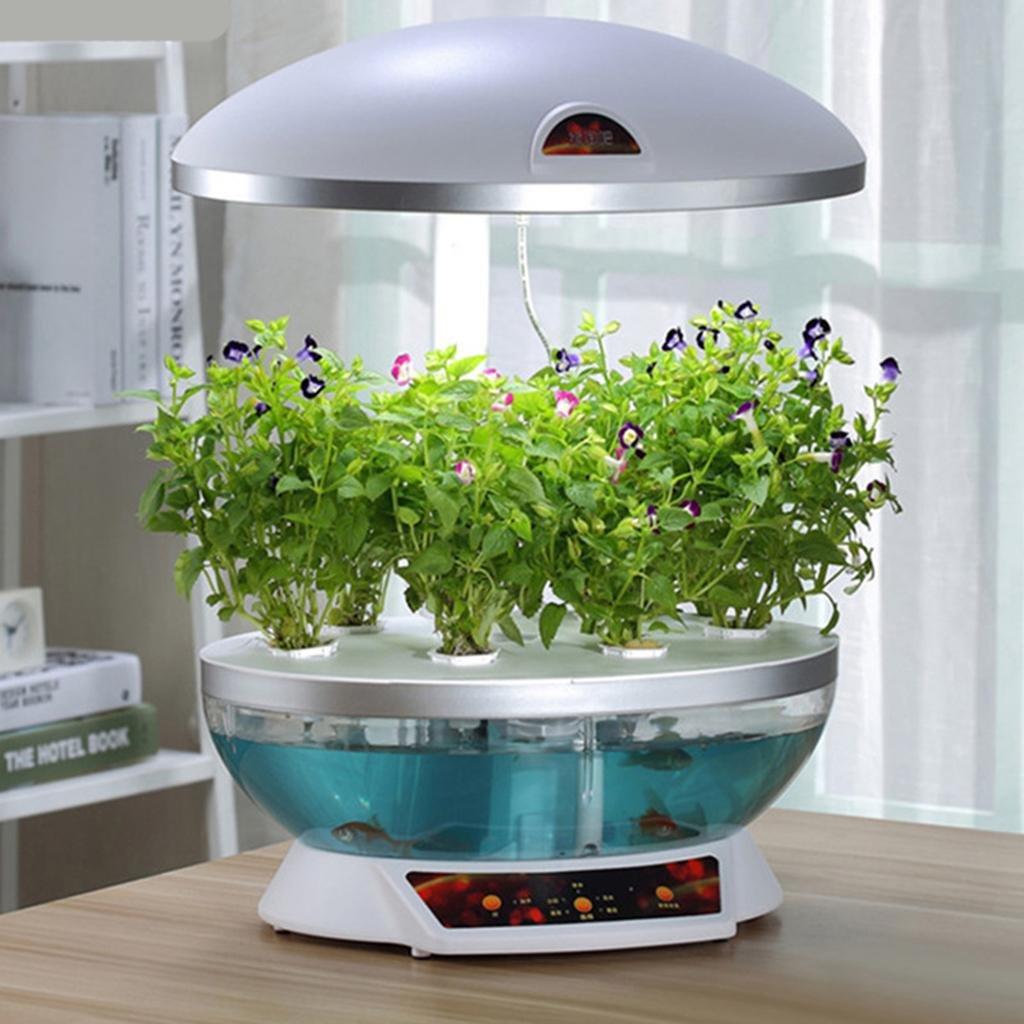 自動野菜栽培マシン魚の食事のコピー屋内のスマートな花の鉢植えの野菜の装飾力50Wサイズ410 * 300 * 620(410)mmスケーラブル B076BKKH4S