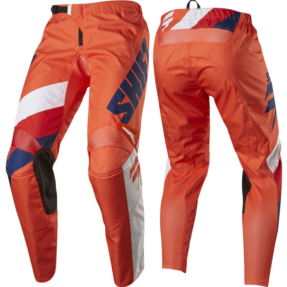 2017 Shift White Label Tarmac Pants-Orange-32