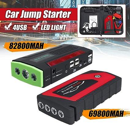 AoforzBrand 82800mAh 4 USB Starter Pack Portable Cargador ...