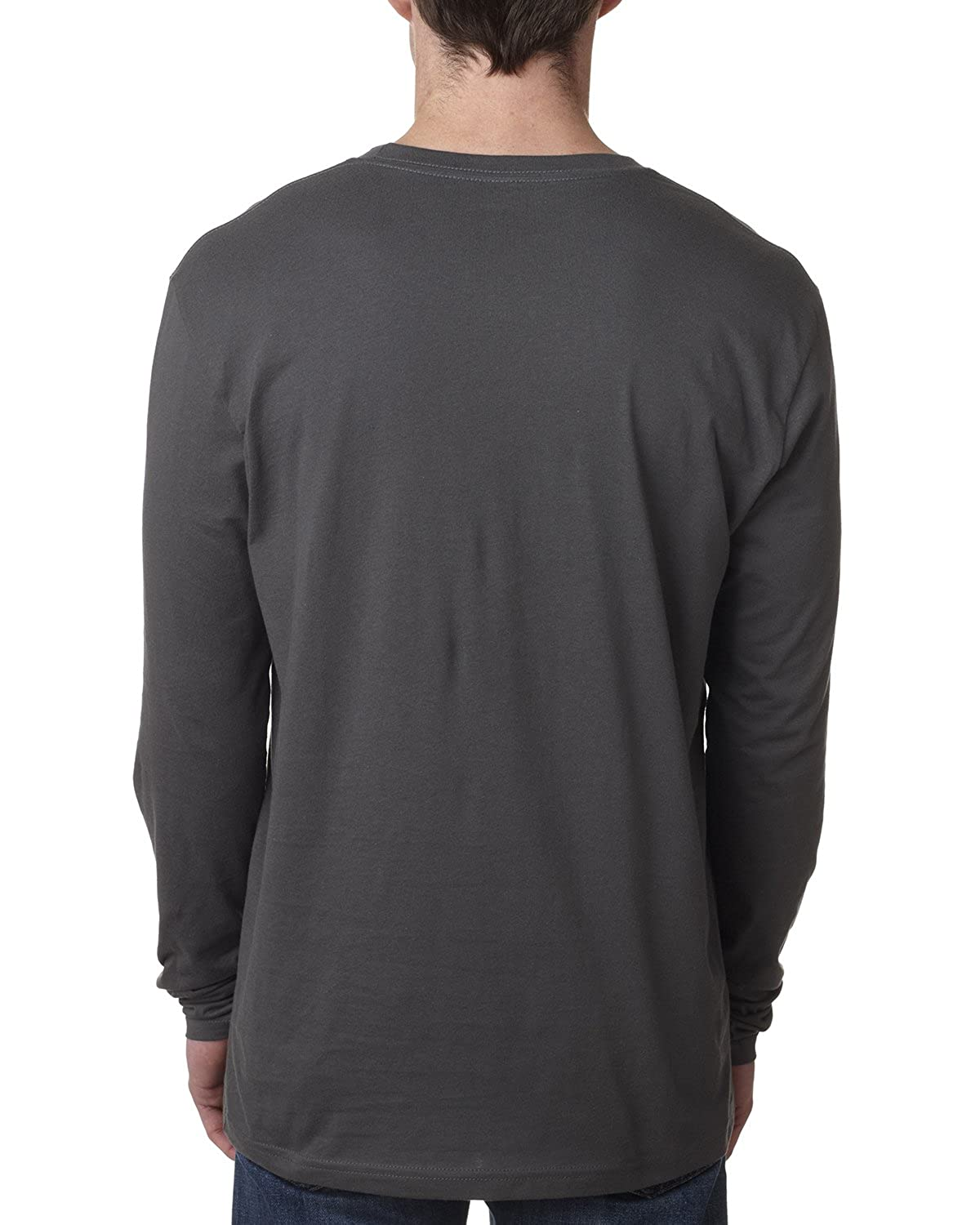 b0eaf02b36596d N8101 Next Level Men s Long-Sleeve Thermal at Amazon Men s Clothing store