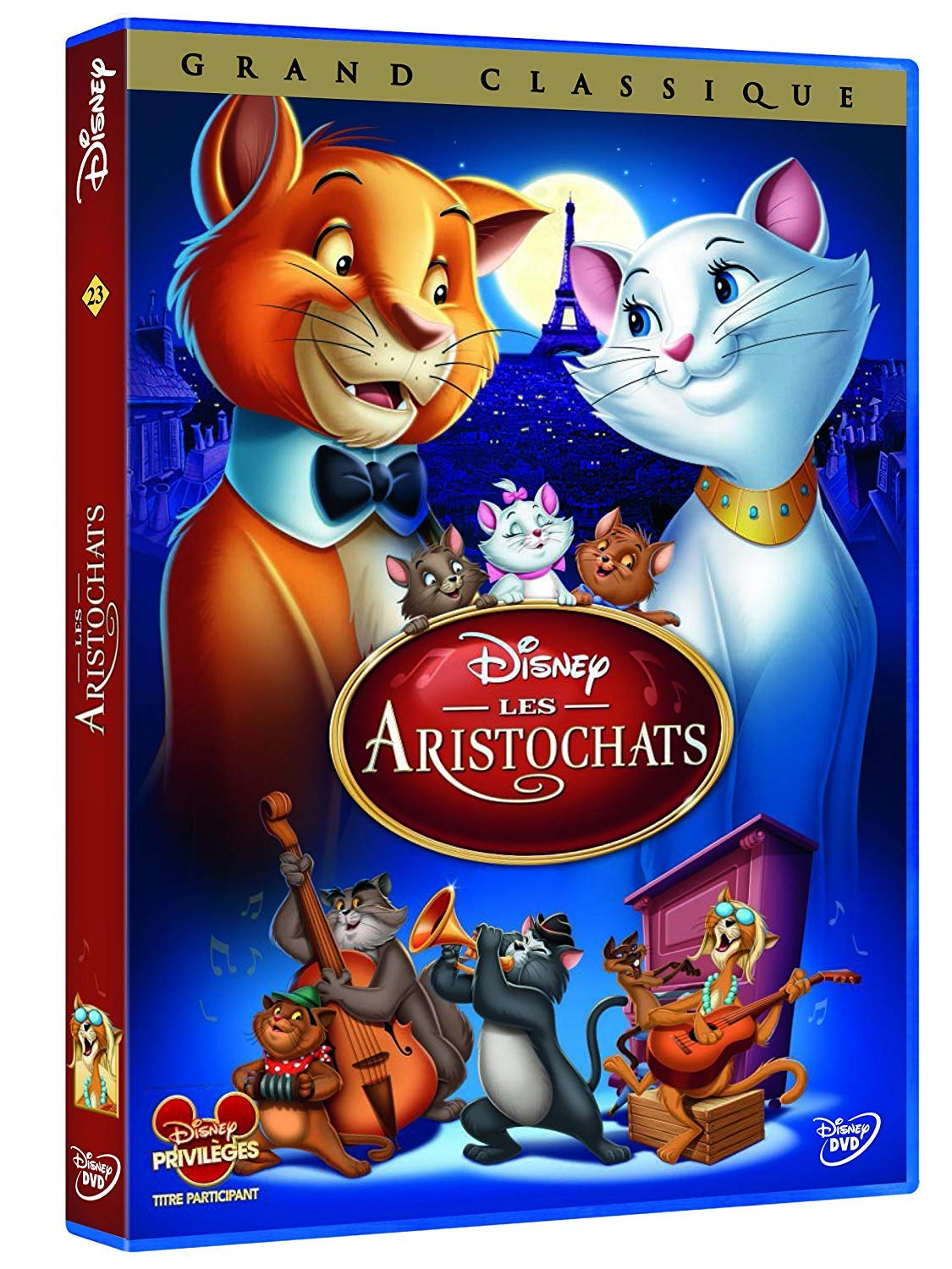 Les Aristochats Amazon Fr Wolfgang Reitherman Dvd Blu Ray