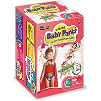 Baby Pants Calzón Entrenador, Talla 2 Niña, 72 Calzoncitos Desechables (6x12)