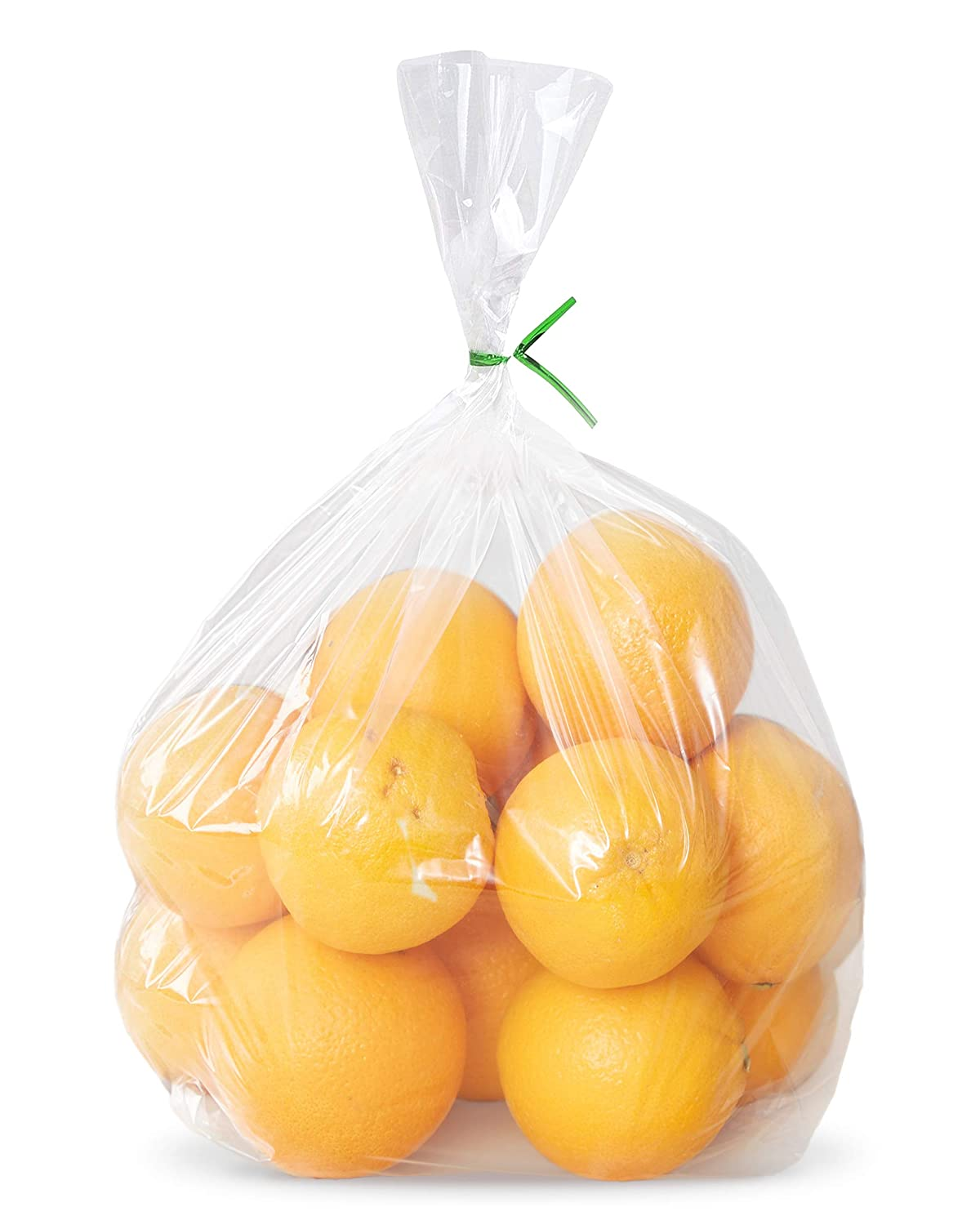 APQ Pack of 100 Jumbo Gusseted Poly Bags 10 x 6 x 24 Extra Large Cloudy Clear Bags 10x6x24 2 Mil Expandable Side Gusset Bags Open Ended Bags for Industrial, Food Service, Health Needs