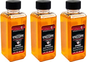 Tornador Enzyme Multi Purpose Cleaner - Heavy Duty Spot and Stain Remover (2oz. 3-Pack)