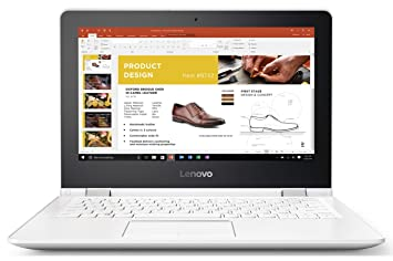 Lenovo Yoga 300-11IBR Ultrabook tactile 11,6 quot  Blanc (Intel Celeron, 37af92dc7e3b
