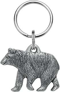 product image for DANFORTH - Black Bear Keyring - Pewter - Key Fob - Handcrafted - Made in USA