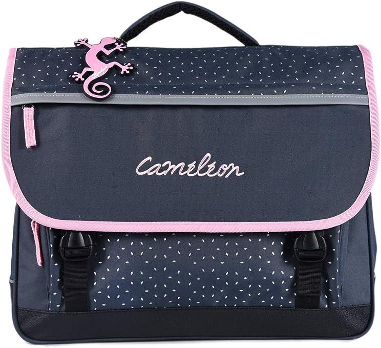 Cartable Gar/çon 2 Compartiments Cameleon Jeune Et Scolaire Bleu