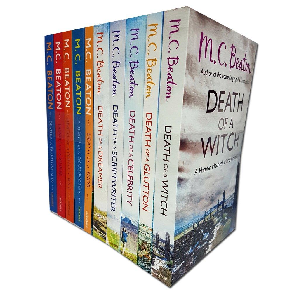 Hamish Macbeth Murder Mystery M.C. Beaton 10 Books Collection Pack Set PDF