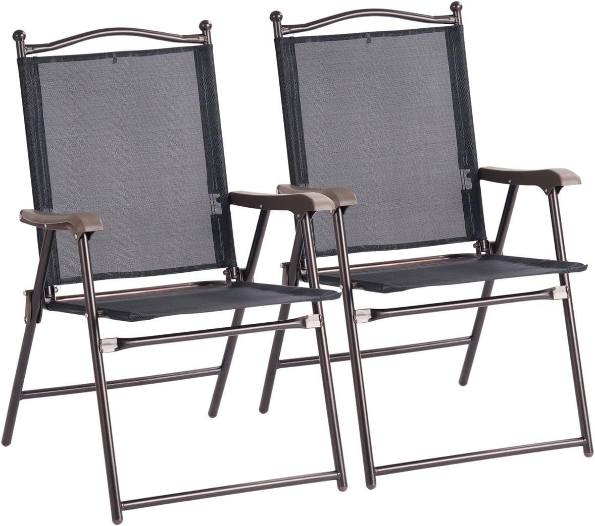 amazon com sling chairs patio lawn garden rh amazon com navy blue sling back chairs