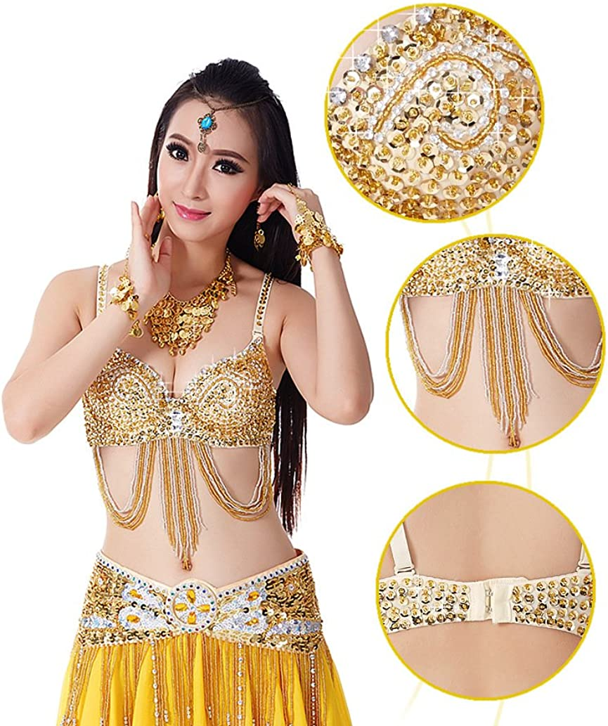 Bettli Fashion Shining Sequins Coin Belly Dance Accessories