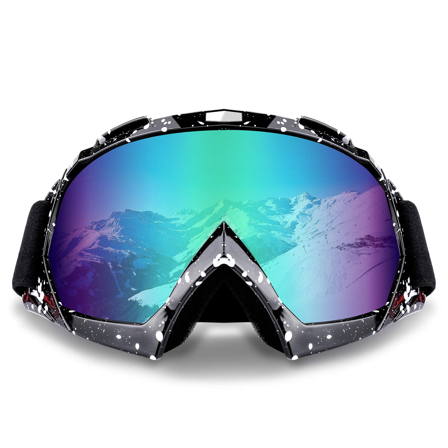 30af325f0f Amazon.com  Ski Goggles Snowboard Goggles Motorcycle Goggles Motocross  UV400 Protection Windproof Dustproof ATV Racing  Automotive