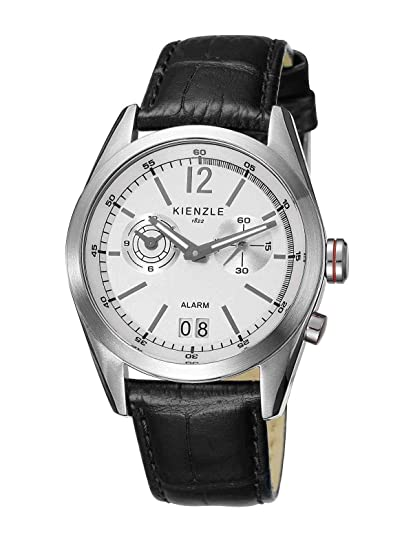 Kienzle K3071011011-00079 - Reloj analógico de cuarzo para hombre con correa de piel,