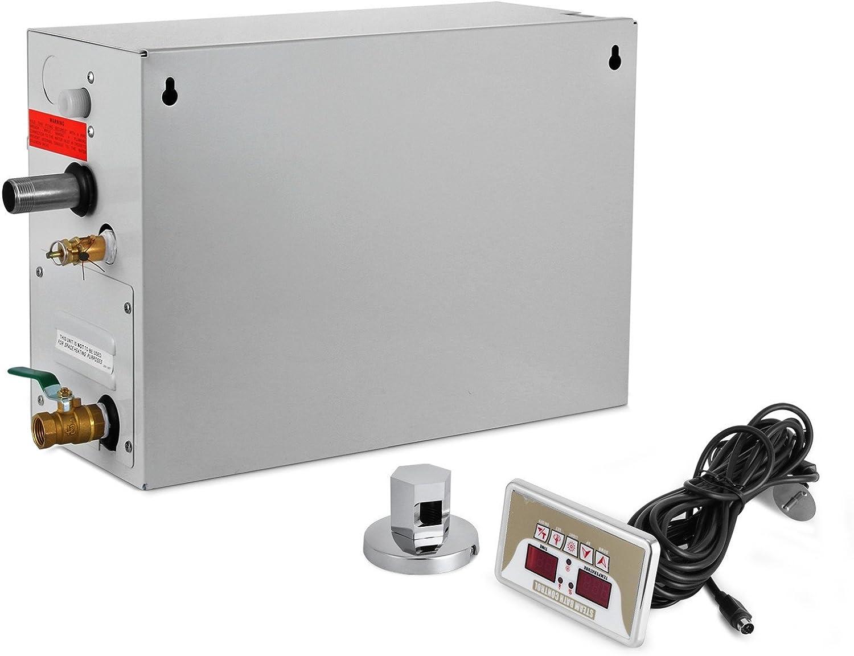 Sauna Shower Combo-Happybuy Steam Generator 9KW
