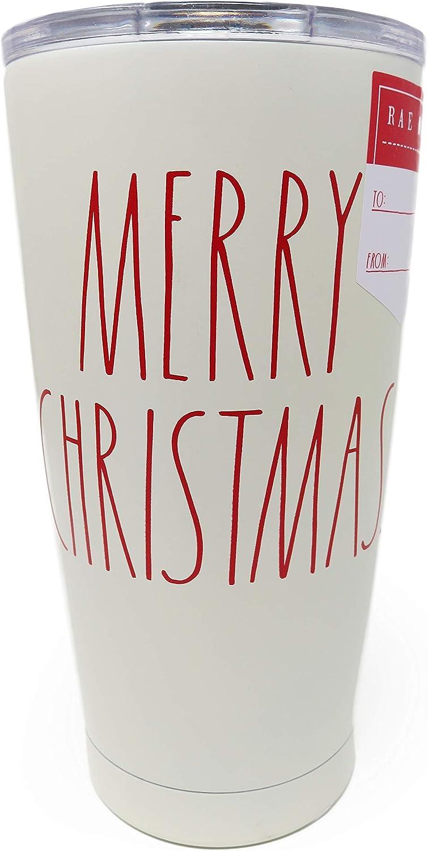 Rae Dunn コーヒー/飲み物 トラベルタンブラーマグ ホワイト