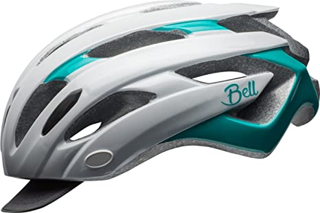 BELL Soul Joy Ride Casco de Bicicleta, Unisex Adulto, Blanco y ...