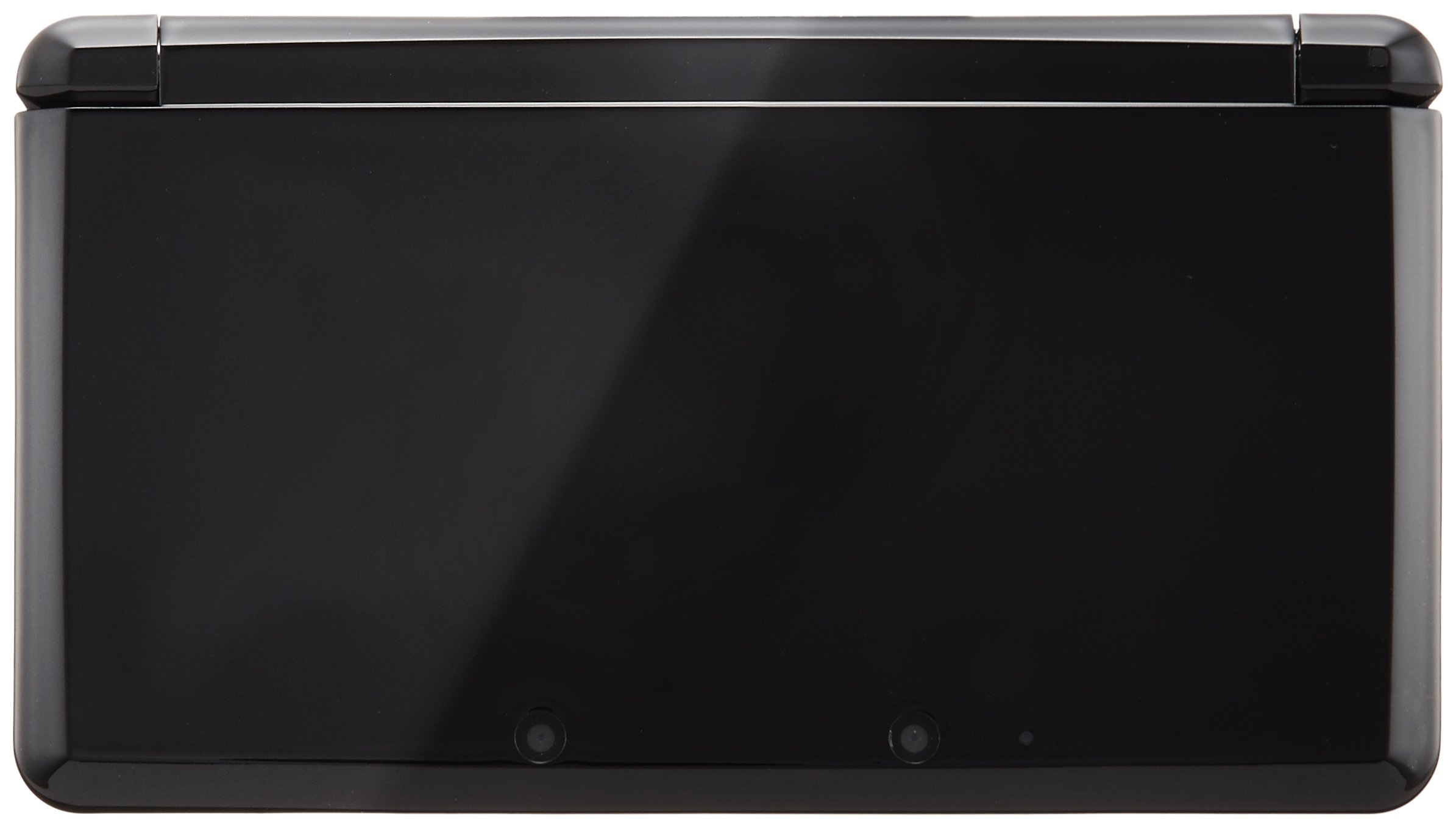 Nintendo 3DS clear black (Japanese Imported Version - only plays Japanese version games) by Nintendo (Image #2)