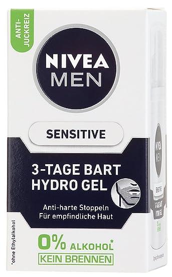 Nivea Men Sensitive 3 Tage Bart Hydro Gel Im 1er Pack 1 X 50 Ml