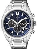 Citizen  CA4010-58L - Reloj de cuarzo para hombre, con correa de 0, color multicolor