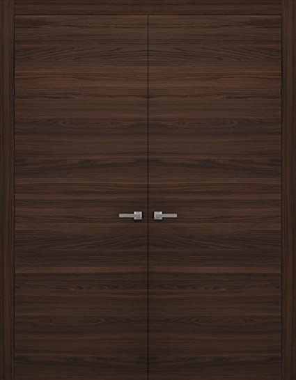 Amazon.com: Pre-Hung Closet Double Doors 48 x 80 inches | Planum ...