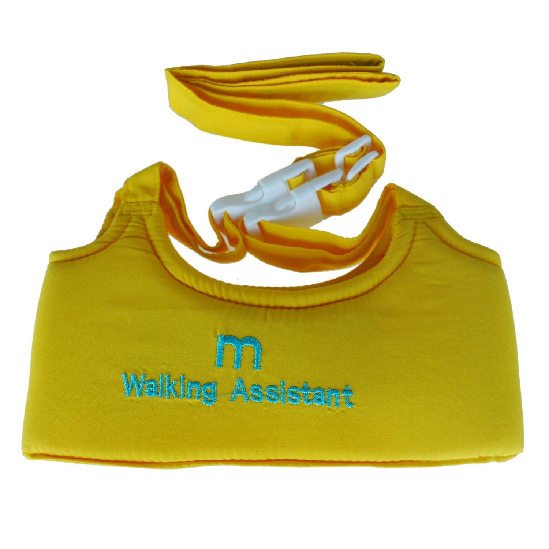 SODIAL(R) Bebe nino que recorre Asistente de Aprendizaje Paseo de seguridad del arnes Riendas Walker Alas - amarillo