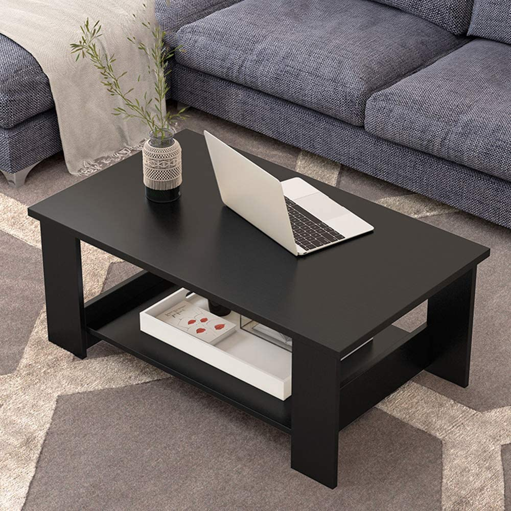 2020 Nieuw Moderne salontafel rechthoekige salontafel van MDF decor sofa side stable zijtafel gemakkelijk te reinigen bijzettafel voor thuis en slaapkamer C 9qYMqLY