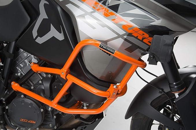 Sw Motech Oberer Sturzbügel Für Orig Ktm Sturzbügel Orange Ktm 1290 Sadv R S 16 1090 Adv 16 Auto