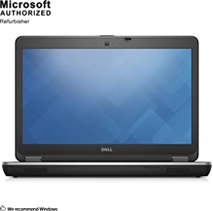 Dell Latitude E6440 14 Inch Business Laptop, Intel Core i5-4200M up to 3.1GHz, 8G DDR3, 500G, DVDRW, VGA, HDMI, Win 10 Pro 64 Bit Multi-Language Support English/French/Spanish(Renewed)
