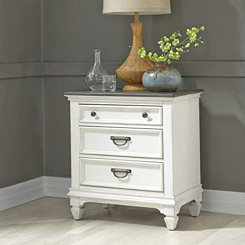 Liberty Furniture Industries Allyson Park Night Stand w/Charging Station