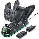 Carregador Duplo OIVO Para Xbox One S X Elite C/ 2 Baterias