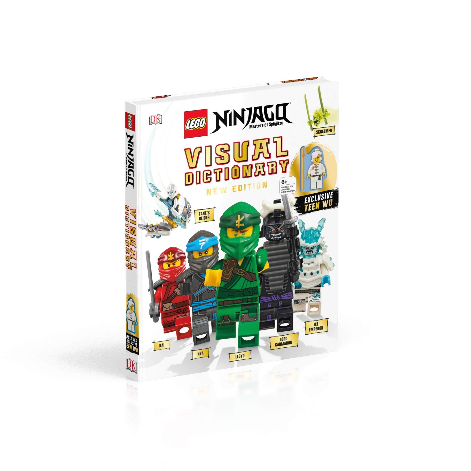 Lego Ninjago Visual Dictionary, New Edition: With Exclusive ...