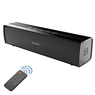 Soundbar, 30W Sound Bar Home Theater Audio Surround Sound Speaker with Wireless Bluetooth and Wired Connect,Touch and Remote Control for TV, PC,Tablets Projector