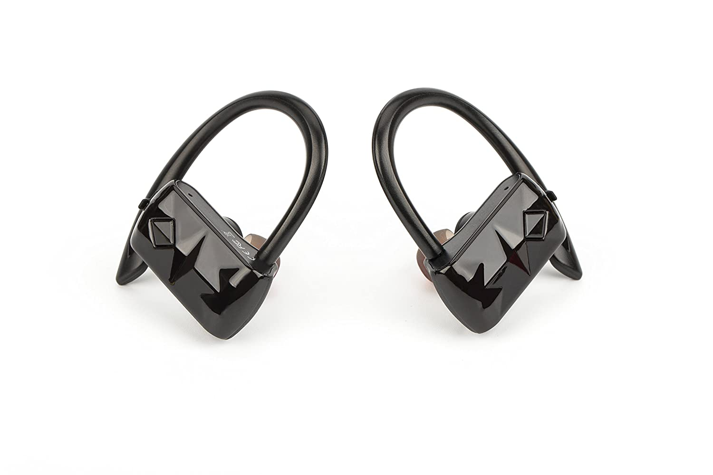 Auriculares Bluetooth Running TWS Sin Cable Entre Ellos. Bluetooth Deporte con Gancho De Silicona. Auriculares Inalámbricos Deportivos para iPhone, Samsung, ...