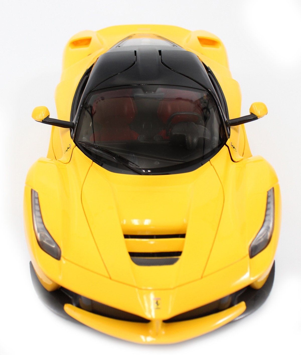 Wonderful Amazon.com: 1/14 Scale Ferrari La Ferrari LaFerrari Radio Remote Control  Model Car R/C RTR Open Doors (Yellow) By FMTStore: Toys U0026 Games