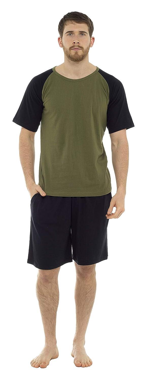 Pigiama Uomo Corto Due Pezzi T-Shirt con Maniche Corte /& Pantaloncini CityComfort Pigiama Uomo Estivo in Cotone