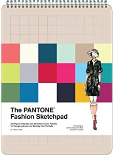 the fashion sketchpad 420 figure templates for designing looks and