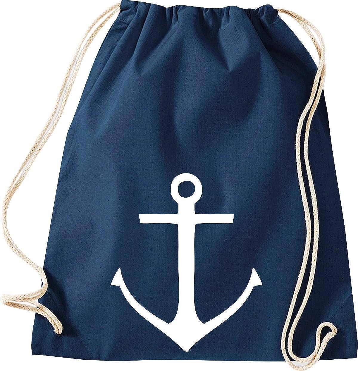 sac culte de ShirtInStyle sport sac sac Capitaine Marin Ancre Style De Port