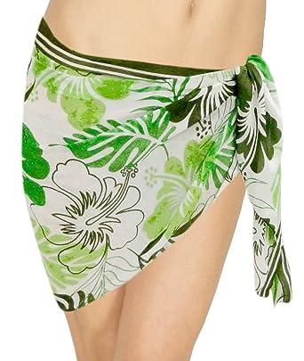 32428a3d13cdd La Leela Bikini Cover up Mini Sarong Beachwear Swimsuit Wrap Scarf Skirt  Swimwear Waist: Amazon.in: Clothing & Accessories