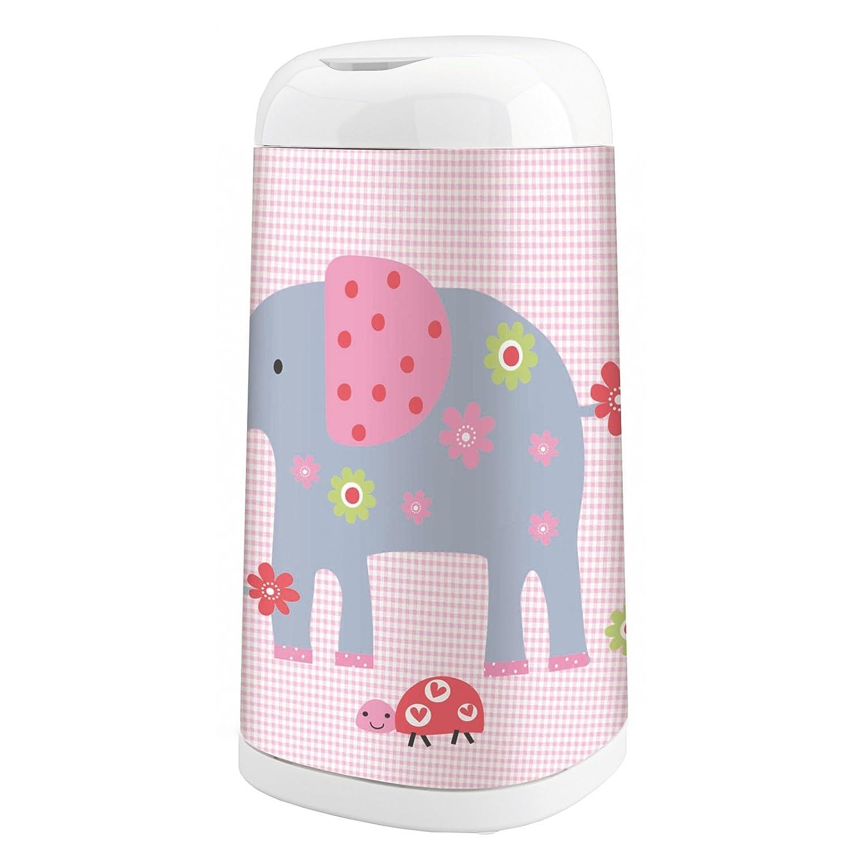 Angelcare Dress-Up Bezug Elephant Family, rosa ADS-PKLEPHA-DE