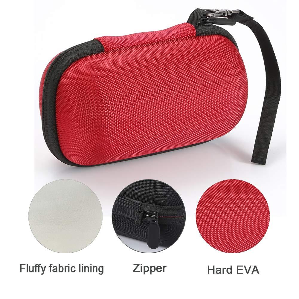 Estuche rígido para Sony SRS-XB10 / Sony SRS-XB12 Altavoz inalámbrico portátil Compacto, Bolsa de Viaje - Rojo