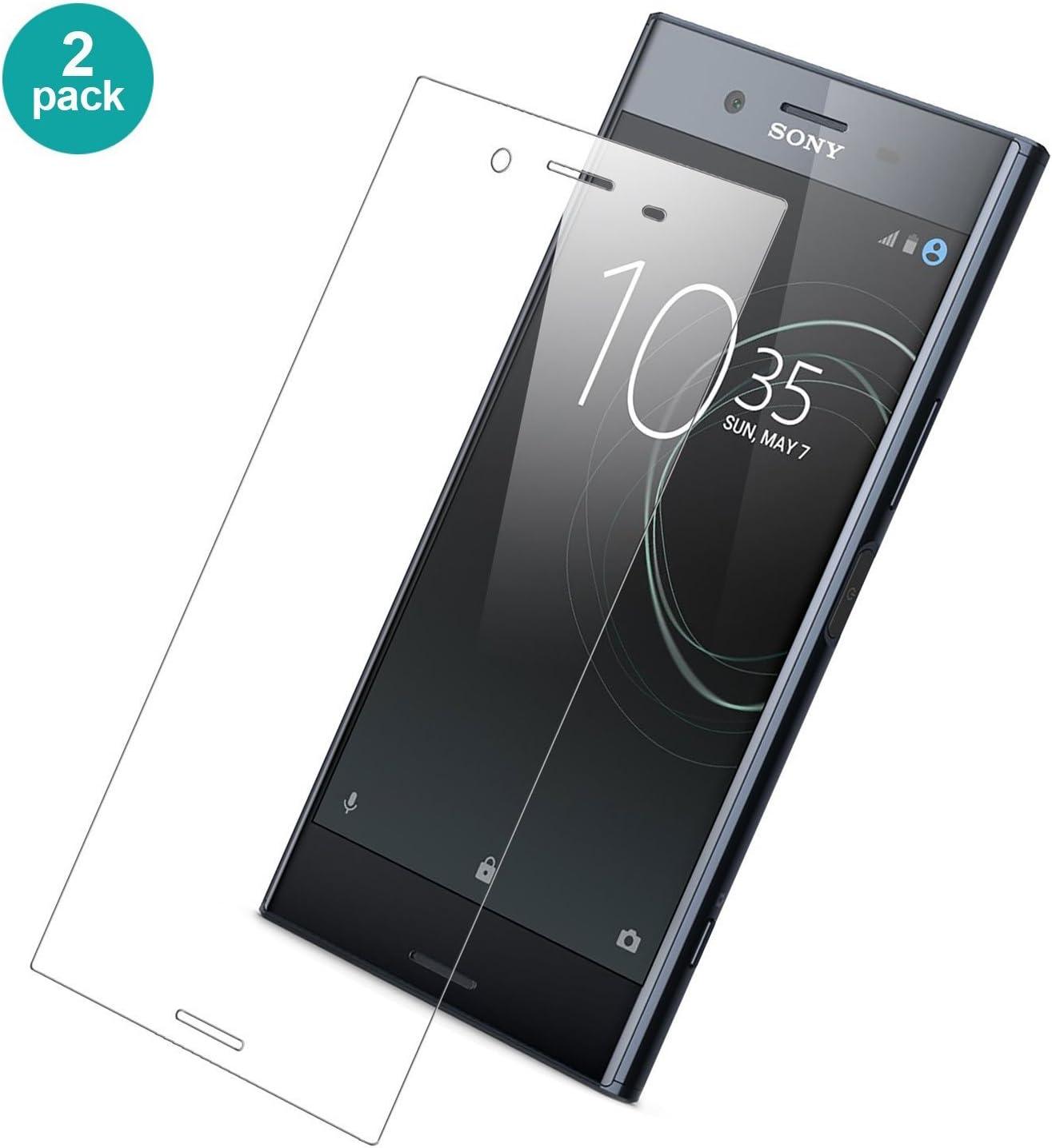 Cristal Templado Premium para Sony Xperia XZ Premium【2 Paquete ...