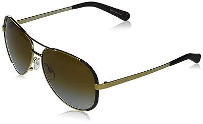 Michael Kors Chealsea Womens Sunglasses M5004 1014T5 Gold Aviator Polarized 59mm