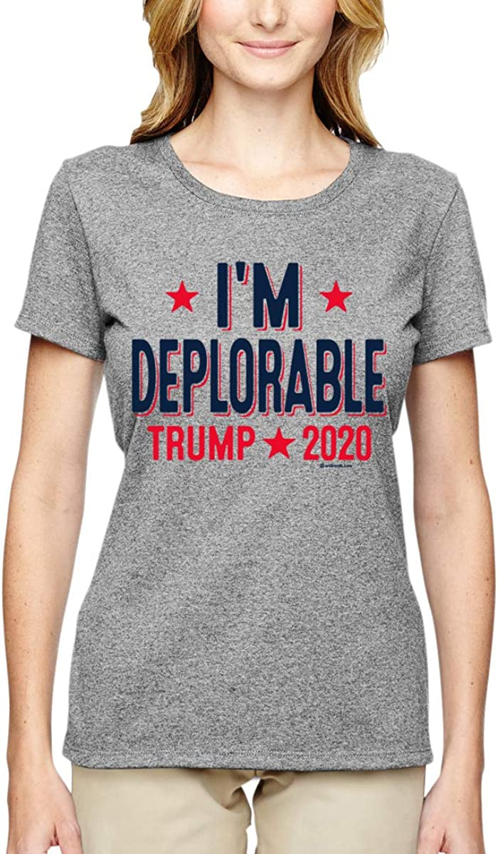 I'm Deplorable President Trump 2020 Maga Supporter | Political Graphic T-shirt