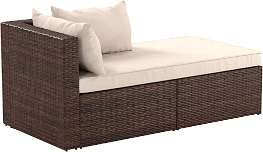 Amazon.com: AmazonBasics - Juego de 3 sofás esquineros de ...