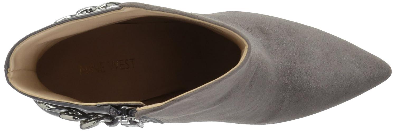 Nine West Women's Tyronah Suede Ankle Boot B01N1MAP8P 9 B(M) US|Dark Grey