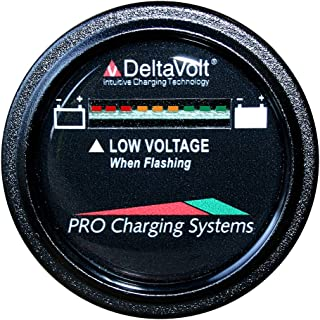 product image for Dual Pro BFGWOV72V 72V Battery Fuel Gauge Wireless on Board Vehicle - Round