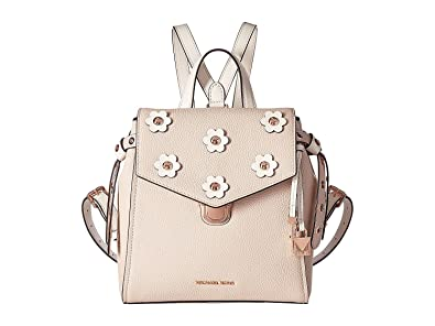 e6d0c94ec941 Amazon.com: MICHAEL Michael Kors Bristol Small Backpack, Soft Pink/Light  Cream Floral: Shoes