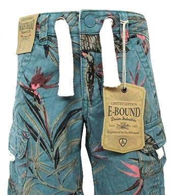 Jungen Hose Shorts kurze Hose Bermuda Größe 128 140 152 164 rot blau türkis  kariert grün 210269a7cb