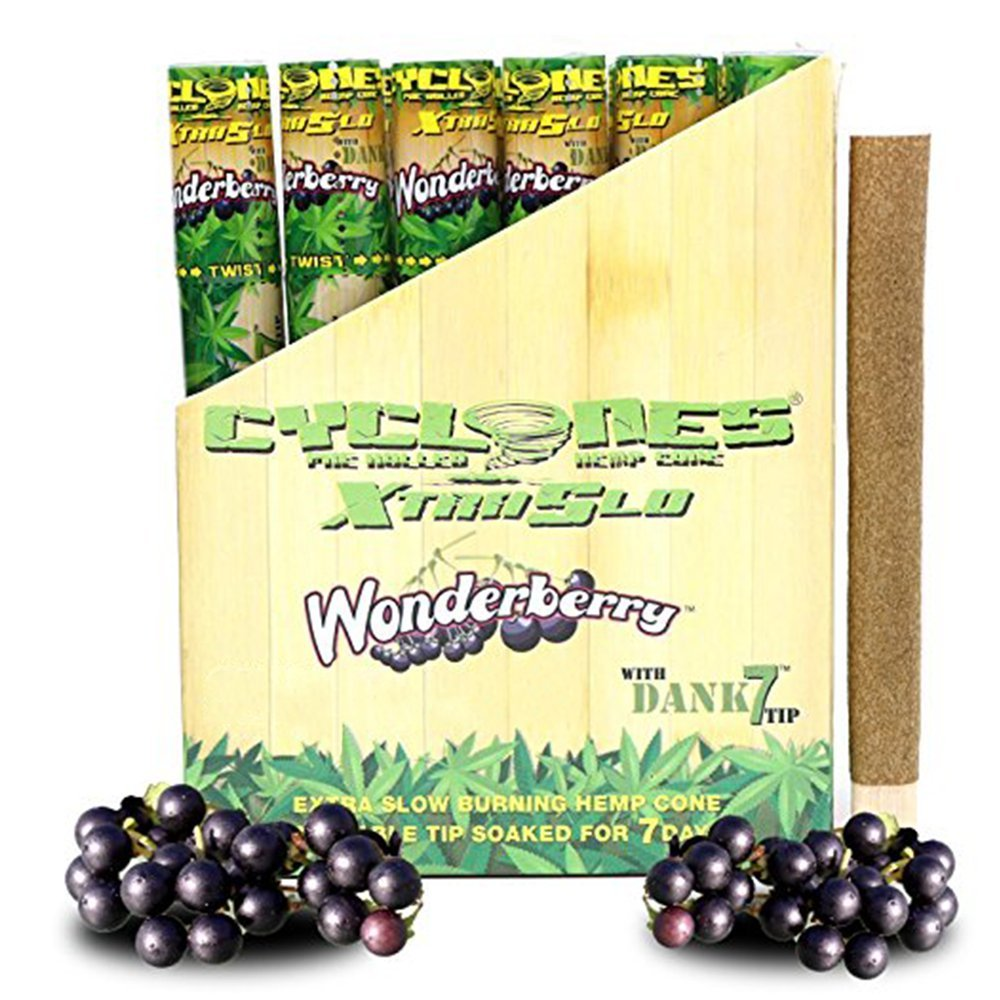 Cyclones Wonderberry XTRASLOW Pre-Rolled Flavored