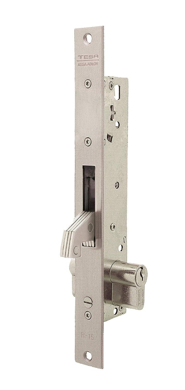 TFB7Q 2241205NM Cerradura metálica, Niquelado Mate: Amazon.es: Bricolaje y herramientas